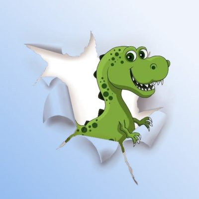 A Treasure Hunt - product dinosaur 4-5 years old