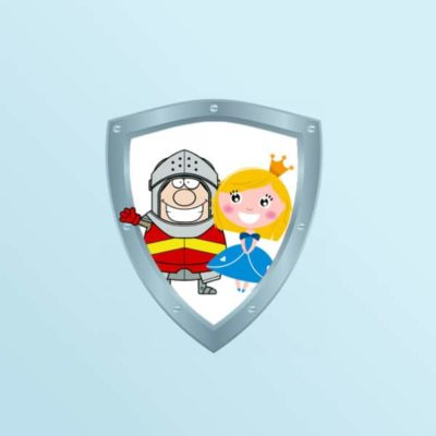 A Treasure Hunt - product princess knight 4-5 years old