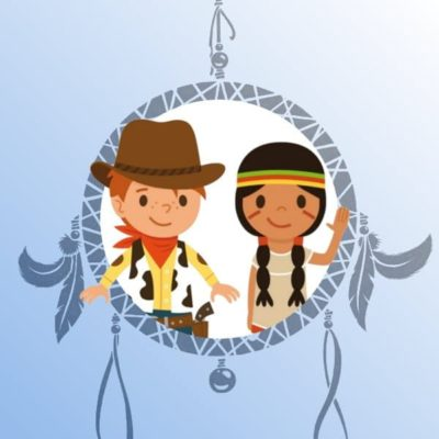 A Treasure Hunt - product cowboy indian 4-5 years old