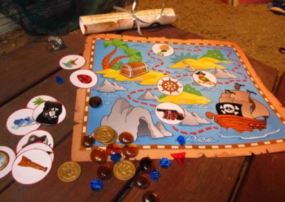 A Treasure Hunt - product pirate and mermaid treasure map