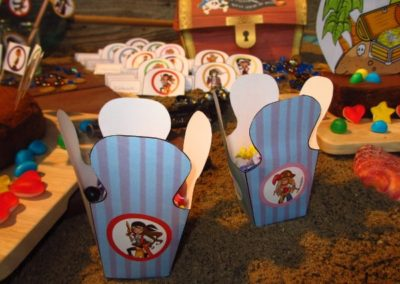A Treasure Hunt - product pirate and mermaid candy boxes
