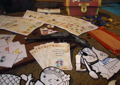 A Treasure Hunt - product pirate and mermaid riddles and challenges