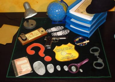 A Treasure Hunt - product detective office decoration