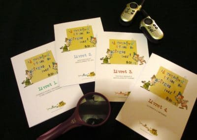 A Treasure Hunt - product detective booklets