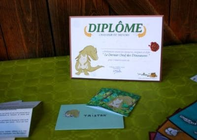 A Treasure Hunt - Dinosaur - Diplomas