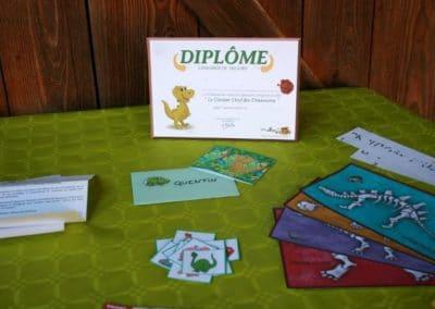 A Treasure Hunt - Dinosaur - Diplomas