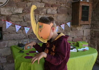 A Treasure Hunt - Dinosaur - Dinosaur mask