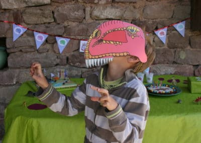 A Treasure Hunt - Dinosaur - T-Rex mask
