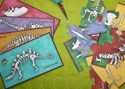 A Treasure Hunt - Dinosaur - Jigsaw puzzle