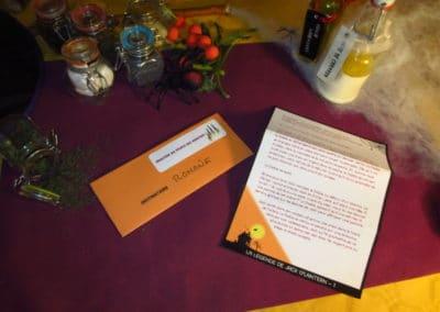 A Treasure Hunt - Halloween - Scenario letter