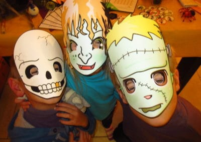 A Treasure Hunt - Halloween - Monster mask