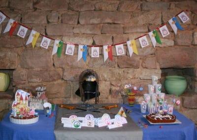 A Treasure Hunt - Princess and Knight - Table decoration