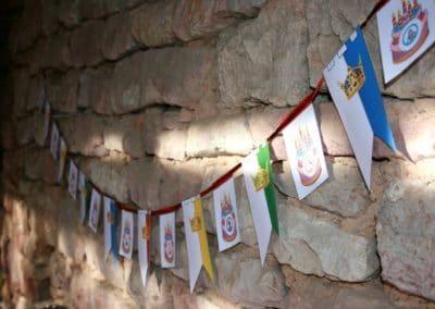 A Treasure Hunt - Princess and Knight - Banners