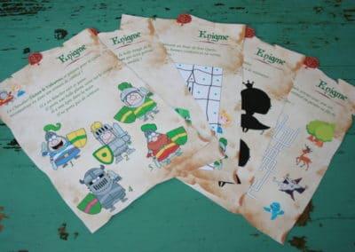 A Treasure Hunt - Princess and Knight - Riddles