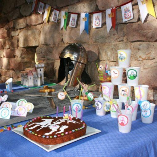 A Treasure Hunt - Princess and Knight - Decoration
